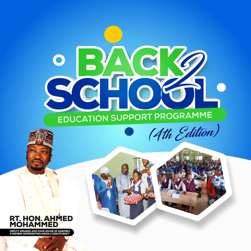 Kogi Deputy Speaker Launches 4th Edition of Education Support Scheme