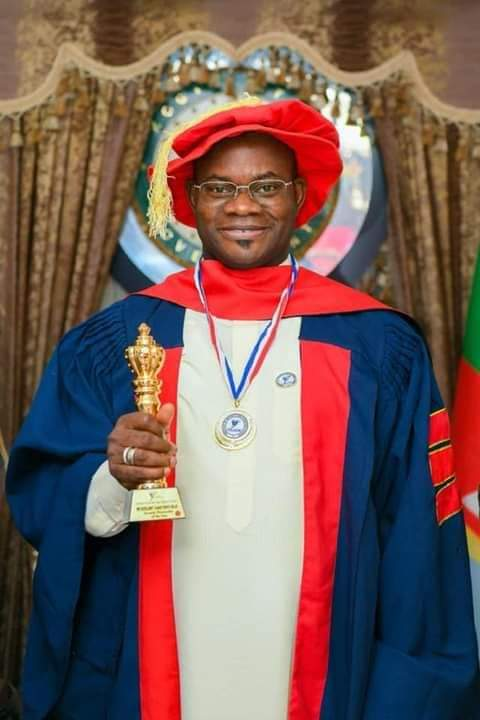 SECURITY INSTITUTE INVESTS FELLOWSHIP ON GOVERNOR BELLO