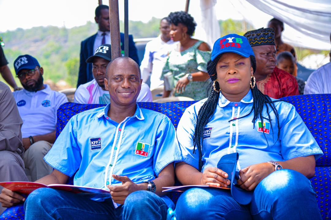 YOU HAVE MADE US PROUD: Rains Of Encomium As Fanwo Donates Health Centre to Takete-Ide community