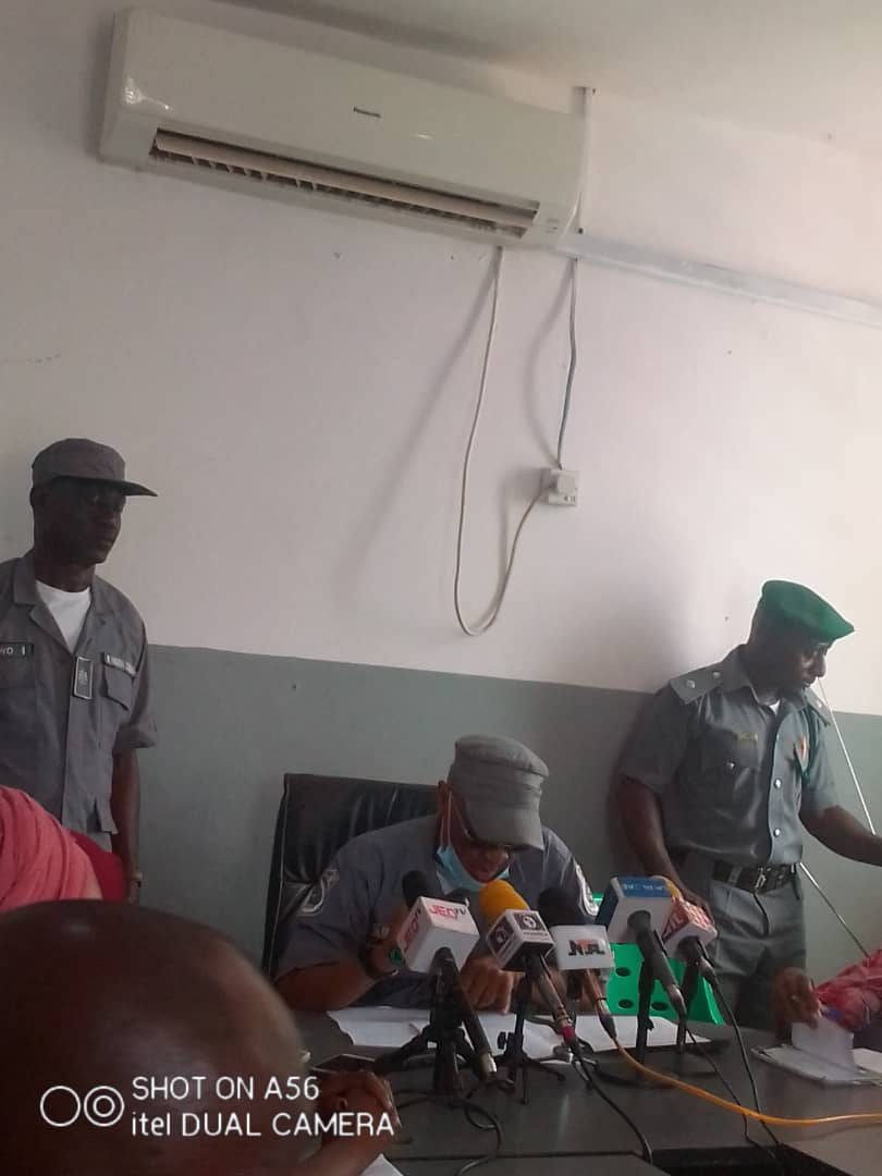 Customs Impound 513 Bags Of Foreign Par Boiled Rice In Kwara