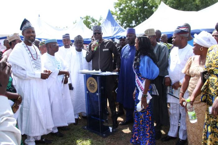 Kogi Speaker Attends Ekinrin-Adde and Ogidi Communities' Annual Day, Calls on the people to support Governor Bello Presidential Aspiration