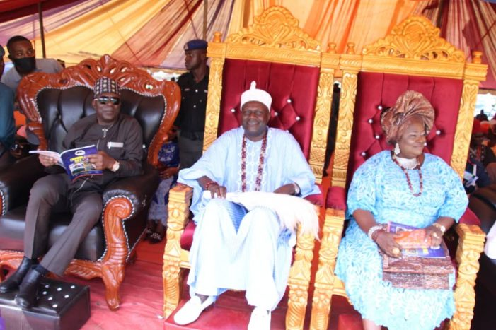Ekinrin Adde Confers Chieftaincy Titles on Eminent Personalities, Launches 100m  Education Infrastructures Development Fund