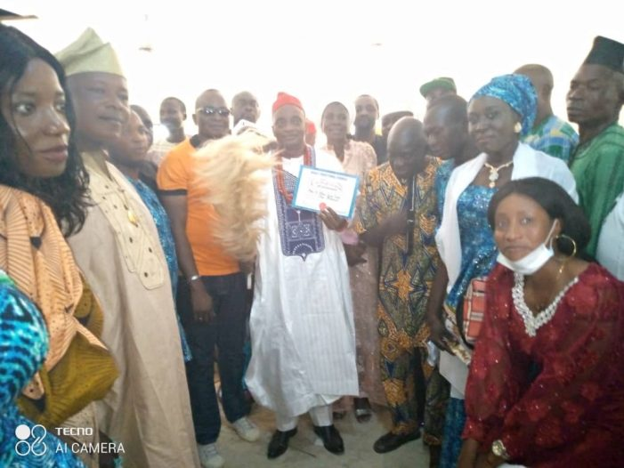 Taufiq Warns Cultist to Desist or Relocate from Ijumu, Restrict Movement from 10pm, Installed as the Olukewade of Ogale-Idi –Oro
