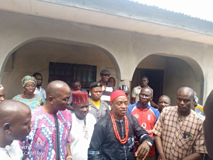 Police Brutality: Hon. Taufiq Pay A Condolence Visit to Family of The Deceased Okada Man in Ekiti State
